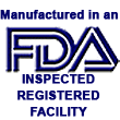 Manufactured in FDA Inspected Facility